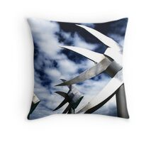 Silver Fish • Cairns • Nth Qld Throw Pillow