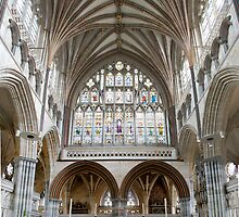 Exeter Cathedral by Mattphotos
