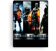 Battlefield War Zone New Canvas Print