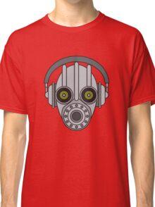 Gasmask Robot Head Classic T-Shirt