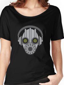 Gasmask Robot Head Women's Relaxed Fit T-Shirt