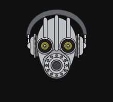 Gasmask Robot Head Unisex T-Shirt