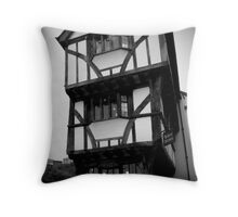 The House that Moved Throw Pillow