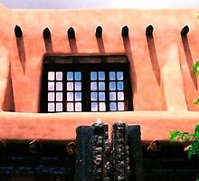 Adobe Window by Mary Campbell