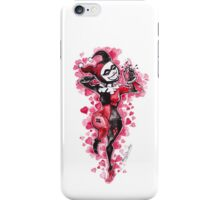Harley Quinn: heart thief iPhone Case/Skin