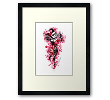 Harley Quinn: heart thief Framed Print