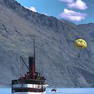 The TSS Earnslaw - Come On We'll Race You by Larry Lingard-Davis