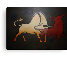 Bullfight 1 Canvas Print