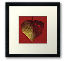Burning Love Framed Print