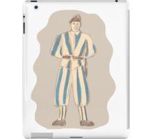 Swiss Guard Standing Sketch iPad Case/Skin