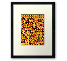 """Monarch"" Pattern v1 Framed Print"