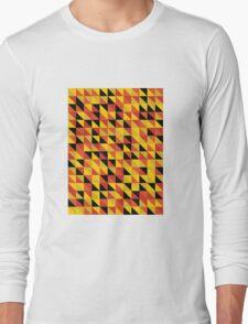 """""""Monarch"""" Pattern v1 Long Sleeve T-Shirt"""