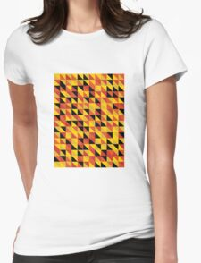 """""""Monarch"""" Pattern v1 Womens Fitted T-Shirt"""