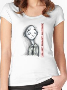 Mandatory Corporate Lobotomy Women's Fitted Scoop T-Shirt