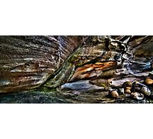 Rock Formation - HDR Photographic Print
