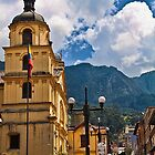Columbia. Bogota. La Candelaria. Church of Our Lady of Candelaria. by vadim19