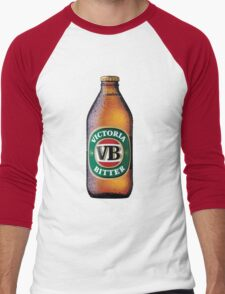 VB Beer Bottle Men's Baseball ¾ T-Shirt