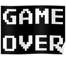 Game Over. Poster