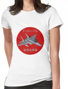 F-15 Eagle Japanese Self Defence Force(JASDF) Womens Fitted T-Shirt