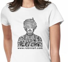 Portrait of James Womens Fitted T-Shirt