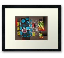 Dot Pattern 6 Framed Print