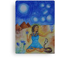 The Goddess Isis Canvas Print