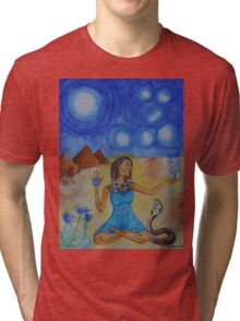 The Goddess Isis Tri-blend T-Shirt