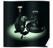 Bottle and Carafe Poster