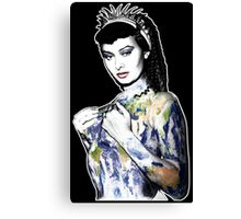 "Title: ""Slave Queen"" Sophia Loren, Sexy, Two Nights With Cleopatra, Earth Goddess. Canvas Print"