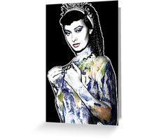 "Title: ""Slave Queen"" Sophia Loren, Sexy, Two Nights With Cleopatra, Earth Goddess. Greeting Card"