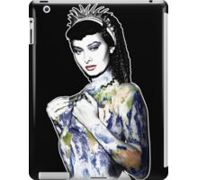"Title: ""Slave Queen"" Sophia Loren, Sexy, Two Nights With Cleopatra, Earth Goddess. iPad Case/Skin"