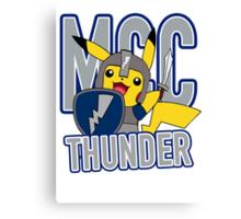 MCC THUNDER Canvas Print