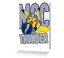 MCC THUNDER Greeting Card