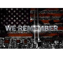we remember  Photographic Print