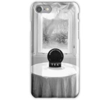 Bay Window with Table and Chairs iPhone Case/Skin