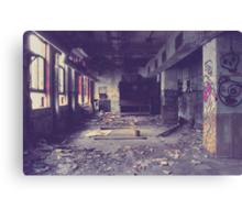 Armstrong Cork Factory - Hallway Canvas Print