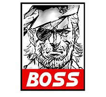 Boss Photographic Print
