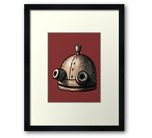 Josef's head Framed Print