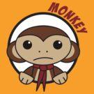 Monkey in a Circle by psygon