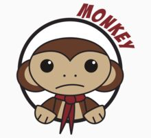 Monkey in a Circle Kids Clothes