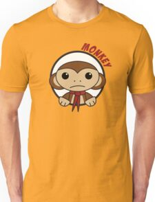 Monkey in a Circle Unisex T-Shirt