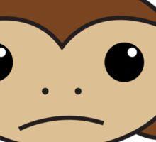 Monkey in a Circle Sticker