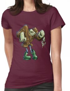 wanna see some pupas? Womens Fitted T-Shirt
