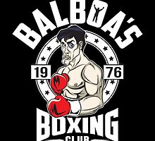 Balboa's Boxing Club by ccourts86