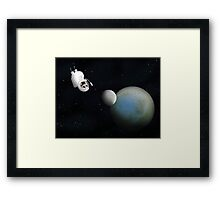 Little guy lost in space chapter 2 Framed Print