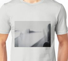 Lady looking at man Analog 35mm black and white lomo film photo Unisex T-Shirt