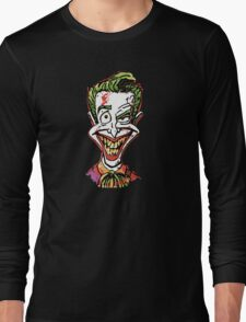 Joker Illustration Long Sleeve T-Shirt