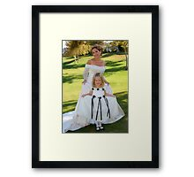 Princesses for the Day Framed Print