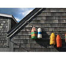 Hanging Buoys  Photographic Print