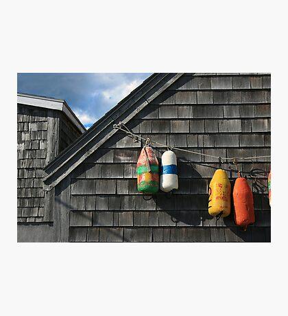 Hanging Buoys  Photographic Print
